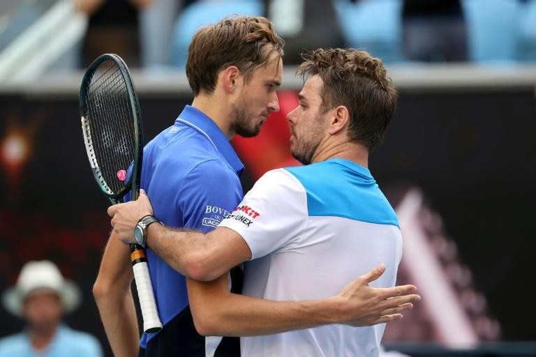 Beating Medvedev brought up another milestone in Wawrinka's illustrious career -- it was his 300th Tour-level win