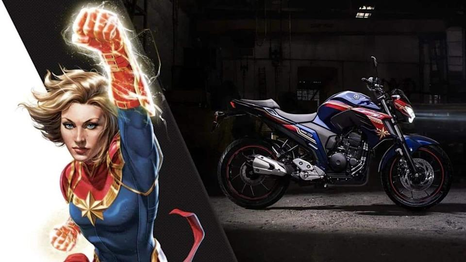 Yamaha unveils new FZ 25 bike clad in superhero liveries