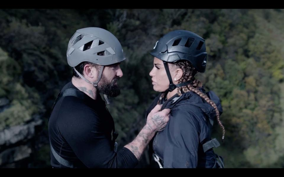 Katie Price reportedlt quit 'Celebrity SAS: Who Dares Wins' after just two days. (Channel 4)