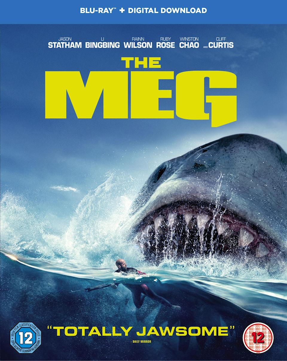 The Meg is out on digital download now