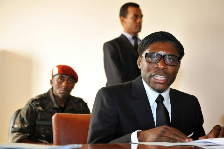 Teodorin Obiang, pictured here in 2012, is the son of Equatorial Guinean President Teodoro Obiang Nguema, who has ruled the country for four decades