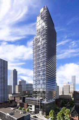 Concord Adex - Gloucester on Yonge Condo Tower Toronto (CNW Group/Concord Pacific)