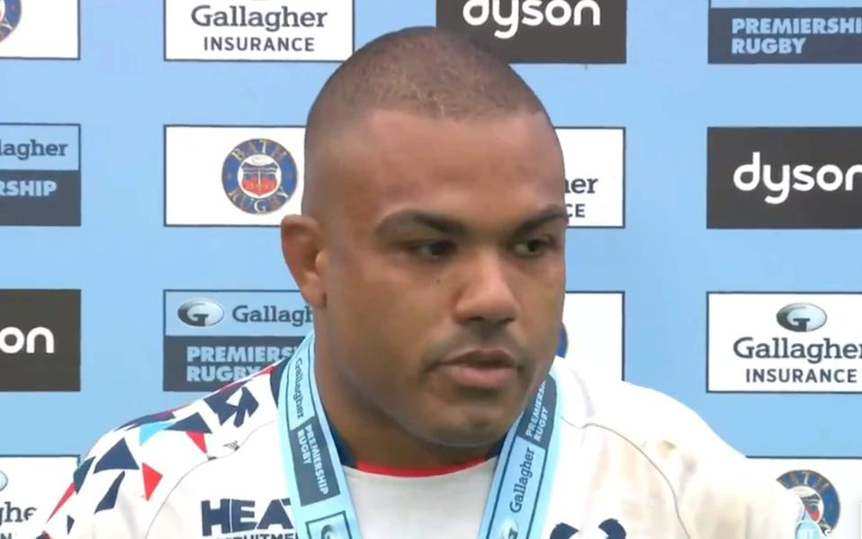 Kyle Sinckler of Bristol Bears is visibly emotional as he discusses how it felt to miss out on #LionsRugby selection - BT Sport