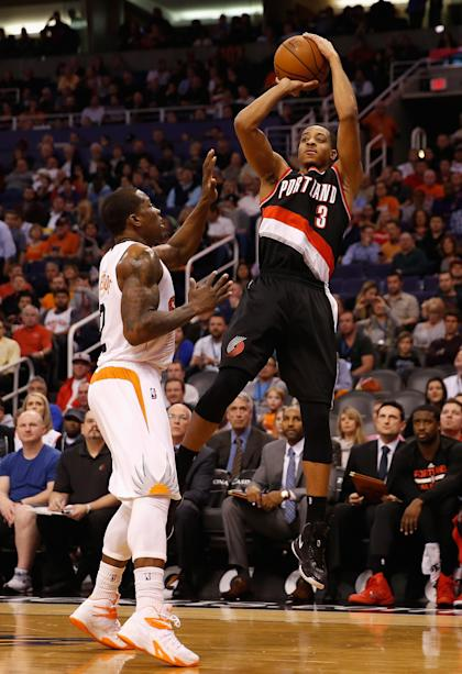 Second-year scorer C.J. McCollum could get a chance to shine. (Christian Petersen/Getty Images)