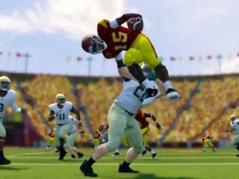 ncaa football 14 gameplay