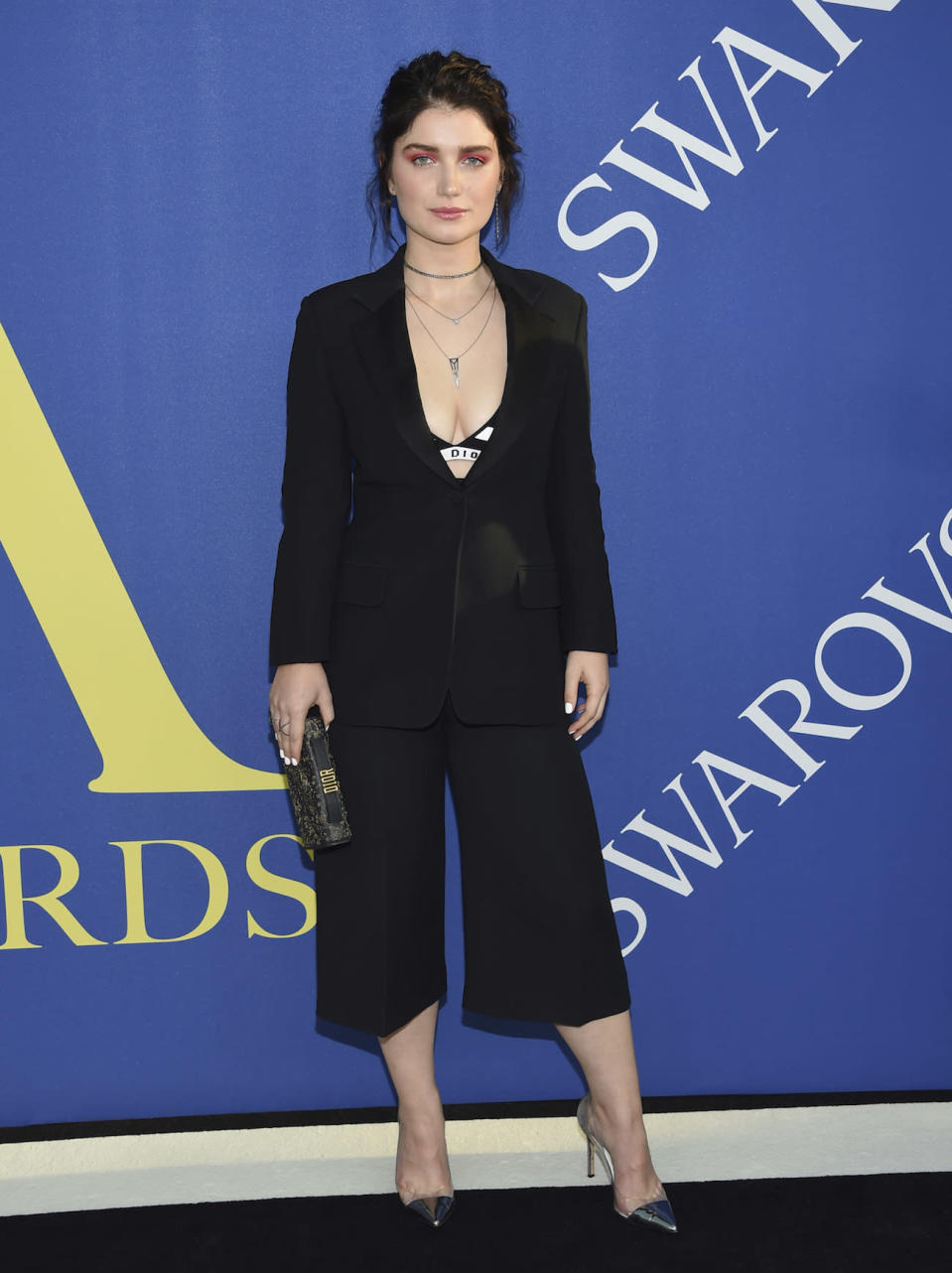 Eve Hewson shows confidence.  Has he heard it from his father?  (Image: AP Photos)