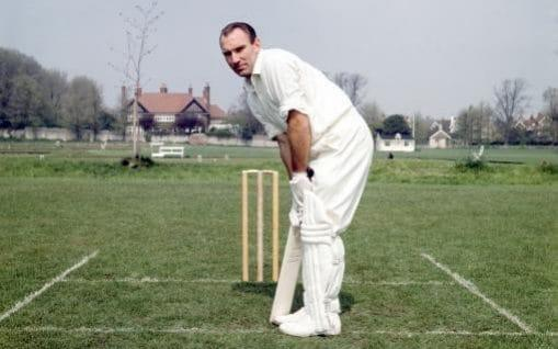 Warming up before a tour match against MCC in 1965 - S&G