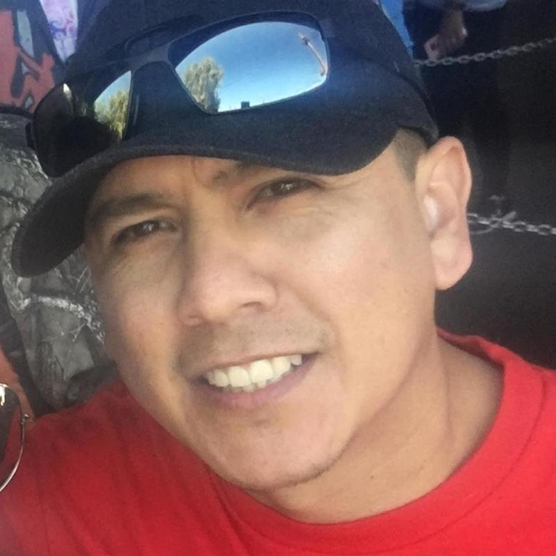 U.S. border agent Rogelio Martinez, 36, was killed in the line of duty on Sunday, authorities said. (Roger Martinez/Facebook)