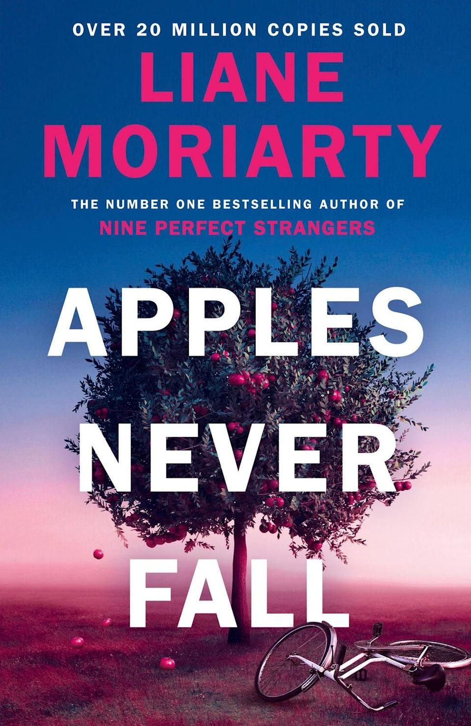Moriarty's new book, 'Apples Never Fall', is a dark, twisty and compulsive family saga that is a sort of spiritual sister to 'Big Little Lies' (Supplied)