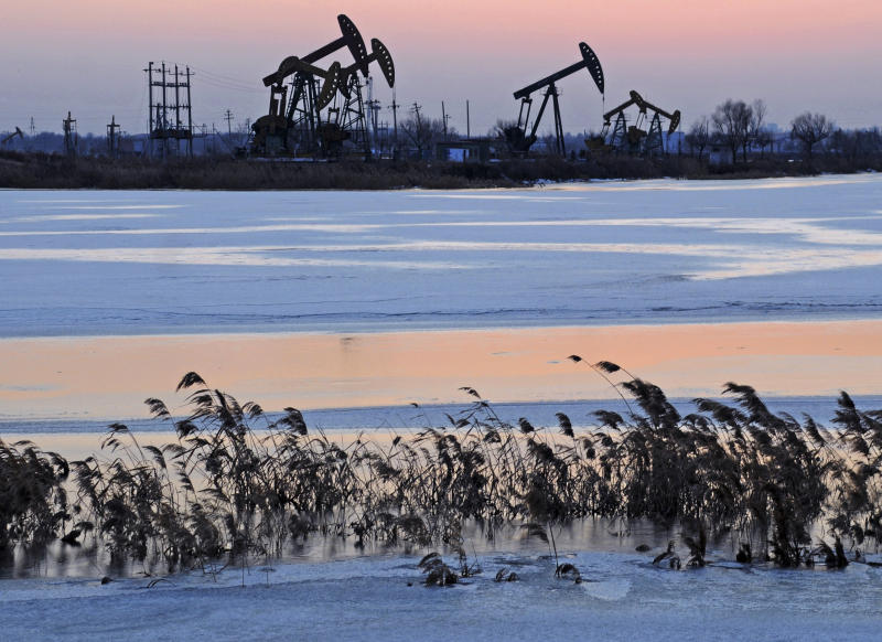 Oil up as China manufacturing offsets weak US data