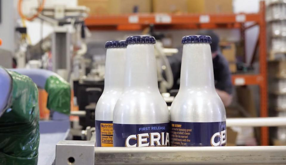 Ceria Brewing Co. is in the process of building out its bottling plant near Denver, Colorado. Co-packers will help bottling in California and Nevada after the brand enters other states that have legalized marijuana.
