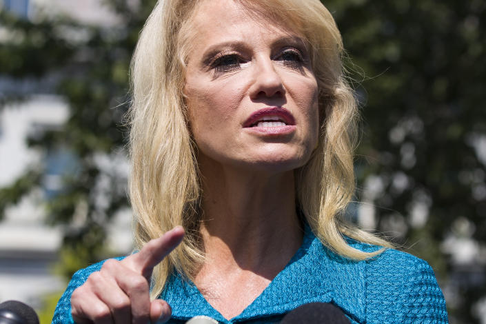 Kellyanne Conway (AP Photo/Alex Brandon)