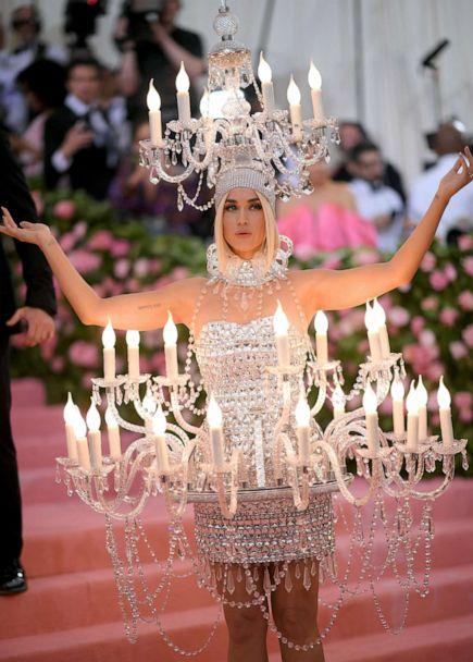PHOTO: Katy Perry attends the 2019 Met Gala Celebrating Camp: Notes on Fashion at the Metropolitan Museum of Art, May 6, 2019 in New York City. (Neilson Barnard/Getty Images)