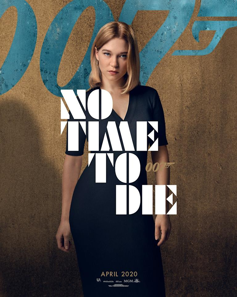 Léa Seydoux returns as Dr. Madeleine Swann, Bond's love interest from <em>SPECTRE</em>. She's a psychiatrist by trade, but has she finally cracked Bond's psyche and convinced him to settle down? (Universal Pictures)