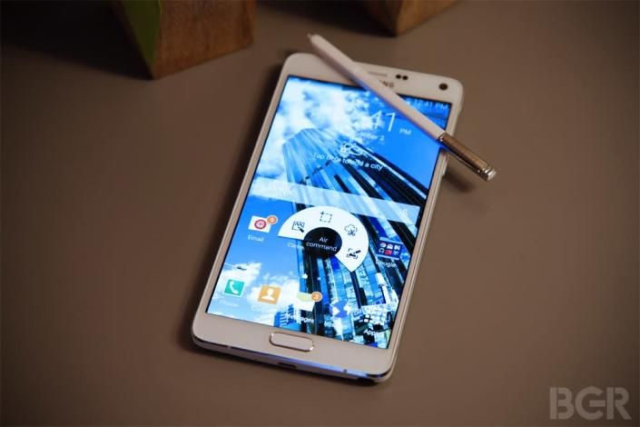 Galaxy Note 4 hasn't even launched and it's already received a major update