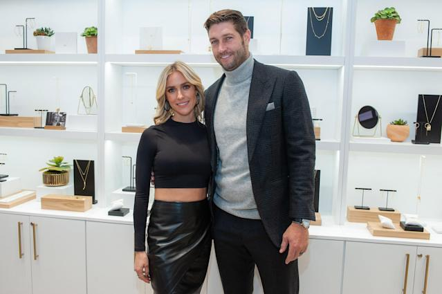 Kristin Cavallari opens up about co-parenting with estranged husband, Jay Cutler. Here they are in 2019. (Photo: Getty Images)