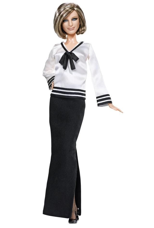 "<div class=""caption-credit""> Photo by: barbiecollector.com</div><b>Barbra Streisand doll, released in 2009 for $53.99</b> <br> Oh, that's Barbra, alright. She may be a Barbie but they're cutting her no slack in the nose department."
