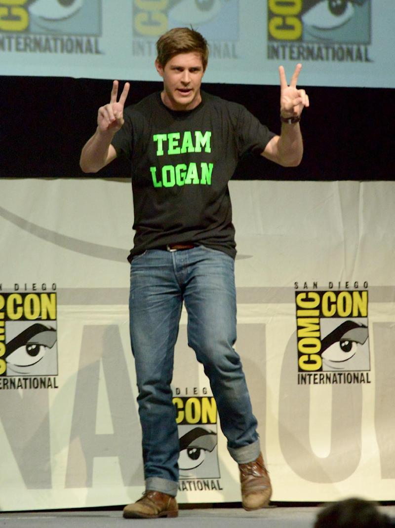 "Chris Lowell participates in the ""Veronica Mars"" panel on Day 3 of Comic-Con International on Friday, July 19, 2103, in San Diego. (Photo by Jordan Strauss/Invision/AP)"