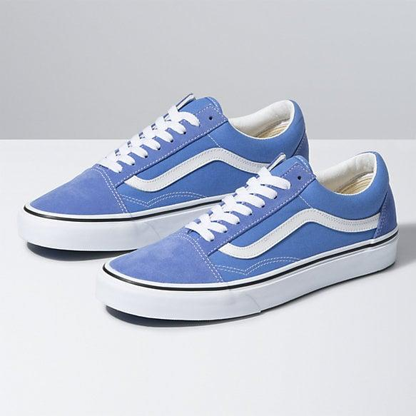 "<p>The blue shade of these <a href=""https://www.popsugar.com/buy/Vans-Old-Skool-Sneakers-584507?p_name=Vans%20Old%20Skool%20Sneakers&retailer=vans.com&pid=584507&price=60&evar1=fab%3Aus&evar9=47571677&evar98=https%3A%2F%2Fwww.popsugar.com%2Ffashion%2Fphoto-gallery%2F47571677%2Fimage%2F47571936%2FVans-Old-Skool-Sneakers&list1=shopping%2Cshoes%2Csneakers%2Csummer%2Csummer%20fashion%2Cfashion%20shopping&prop13=mobile&pdata=1"" rel=""nofollow"" data-shoppable-link=""1"" target=""_blank"" class=""ga-track"" data-ga-category=""Related"" data-ga-label=""https://www.vans.com/shop/womens-shoes/old-skool-ultramarine-true-white"" data-ga-action=""In-Line Links"">Vans Old Skool Sneakers</a> ($60) is pretty.</p>"