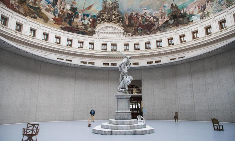 Bourse de Commerce opened as an art gallery in Paris in May.