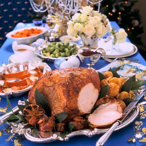 "<p>Treat Christmas guests with this delicious turkey recipe</p><p><strong>Recipe: <a href=""https://www.goodhousekeeping.com/uk/food/recipes/a536578/orange-and-bay-roast-turkey/"" rel=""nofollow noopener"" target=""_blank"" data-ylk=""slk:Orange and bay roast turkey"" class=""link rapid-noclick-resp"">Orange and bay roast turkey</a></strong></p>"