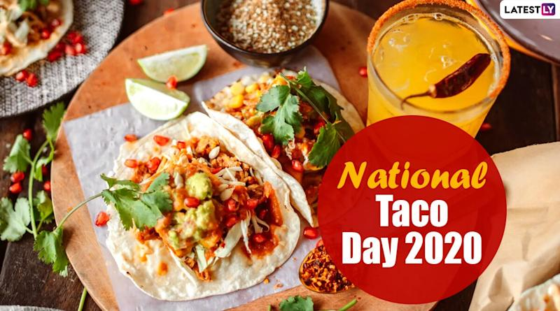 National Taco Day 2020 (US): From Its American Origin to World's Biggest Taco, Here Are 5 Interesting Facts About Traditional Mexican Food Item