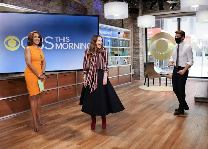 CBS This Morning Co-Host Gayle King with Drew Barrymore