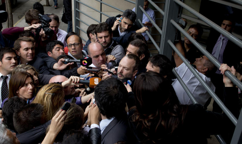 Argentina's Grupo Clarin would split into 6 parts