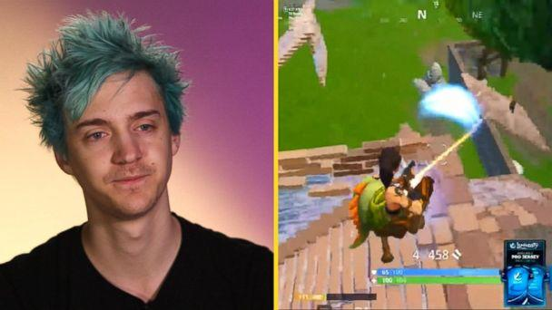 PHOTO: Tyler 'Ninja' Blevins, 27, is the so-called 'king' of the hit, free online game Fortnite: Battle Royale. (ABC News)