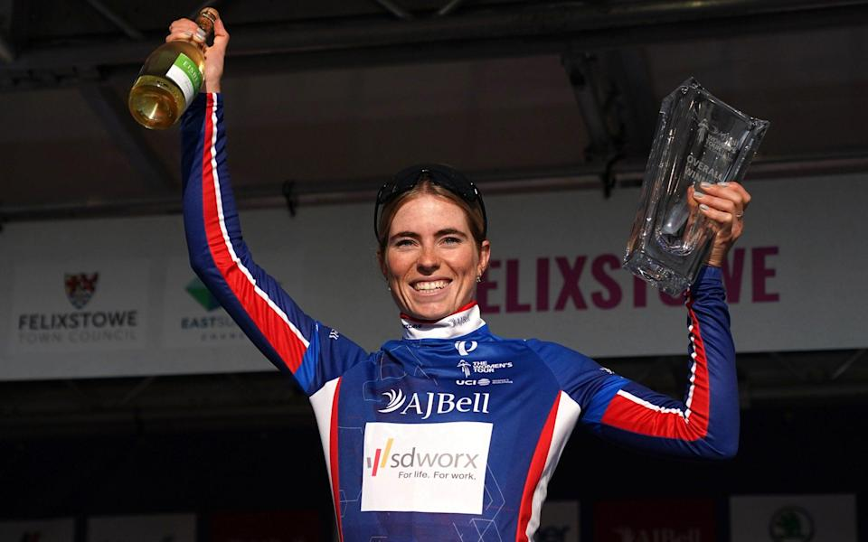 Demi Vollering eases to AJ Bell Women's Tour victory as Elisa Balsamo wins final stage - PA