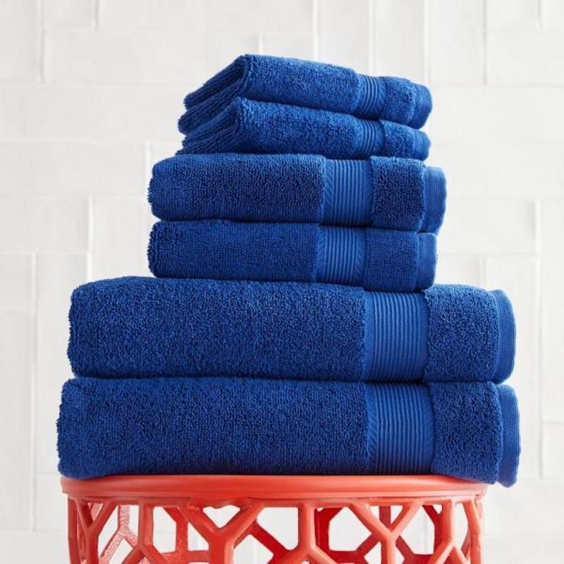 """<p>When was the last time you checked out your guest towels? Before you have overnight guests, invest in a set of plush, matching towels for family and friends to use when they're staying over. It's a small, but luxe touch that they're sure to appreciate when they're far from their own home. This set is fluffy and absorbent, and comes with two bath towels, two hand towels, and two wash cloths. Set out extras for your guests and they'll feel like they're staying at a five-star hotel. </p> <p><strong>To buy: </strong>$21 for set of 6, <a href=""""https://www.homedepot.com/p/StyleWell-6-Piece-Hygrocotton-Towel-Set-in-Mariner-AT17644-Mariner/308182512"""" target=""""_blank"""">homedepot.com</a>. </p>"""