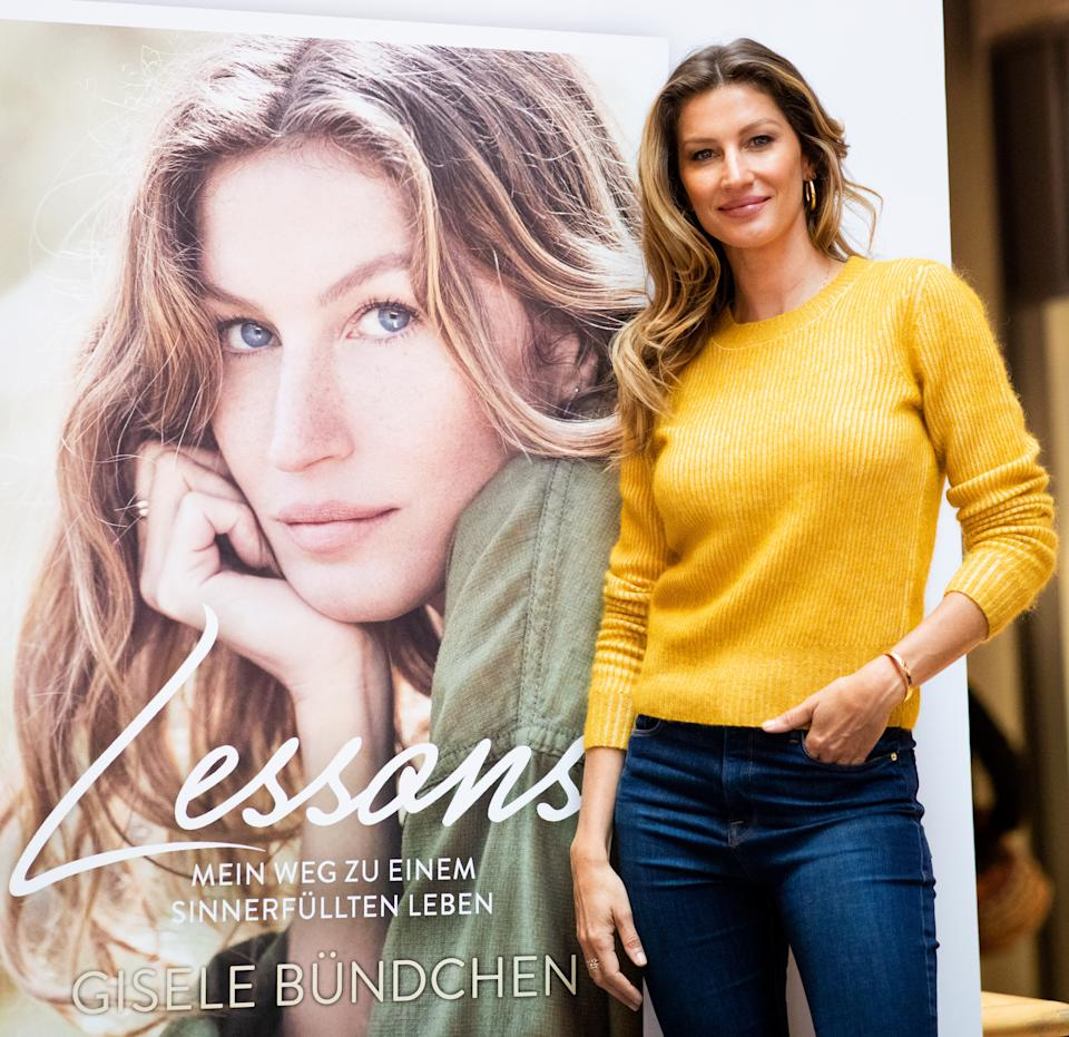 Bündchen says she wrote her book to raise awareness about her lifestyle. (Photo: Christian Charisius/picture alliance via Getty Images)