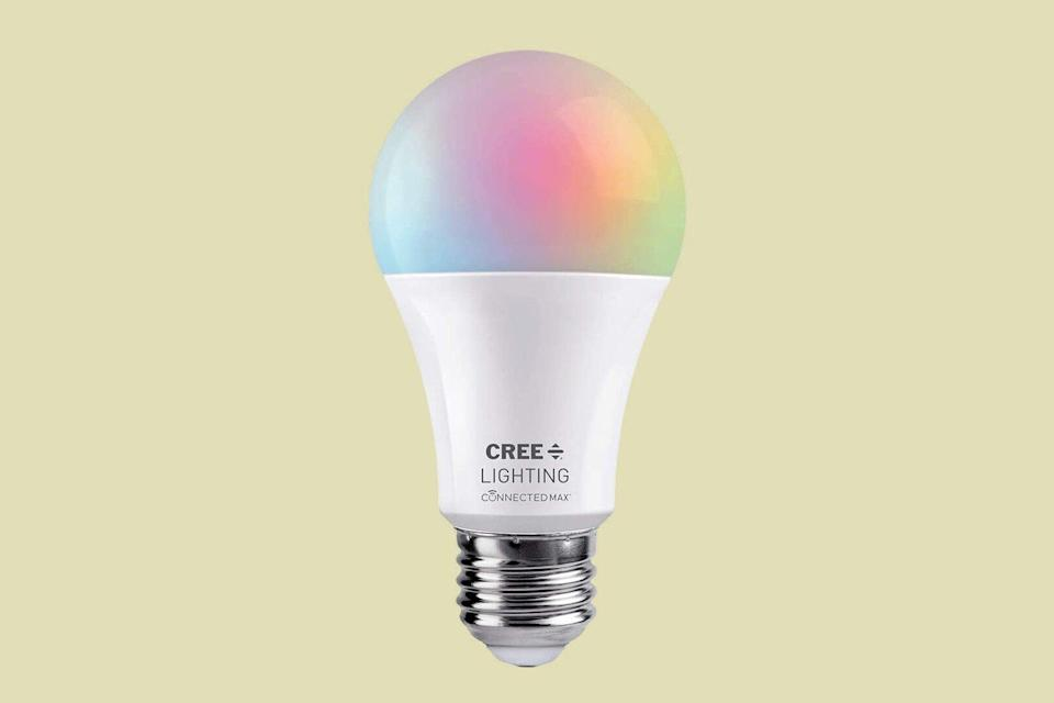 Cree Lighting Connected Max A19 LED White & Color Changing Bulb