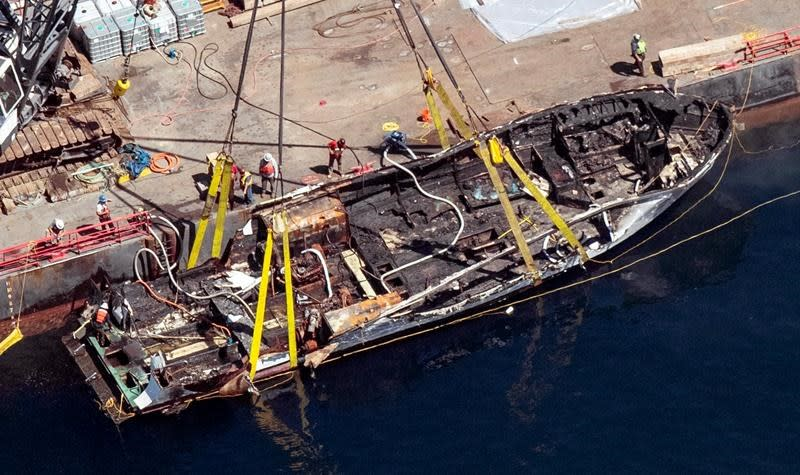 No emergency training for crew on boat where fire killed 34