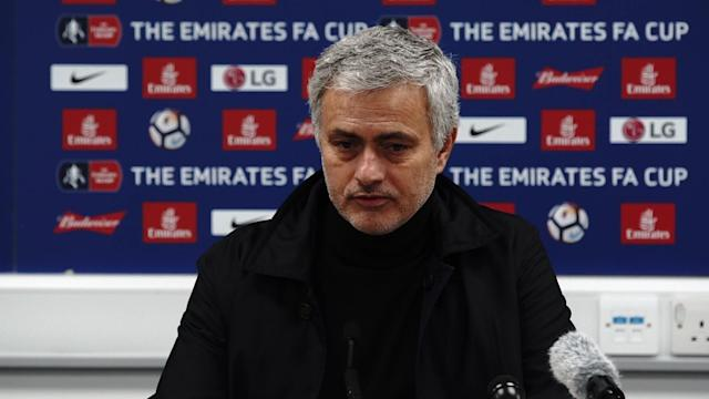 Manchester United manager Jose Mourinho was happy to guide his side into the quarter-finals of the FA Cup after a 2-0 win at Huddersfield.