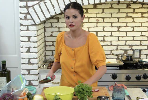 Selena Gomez launched as a chef in Incredible!