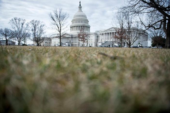 Republicans and Democrats sealed a deal on Capitol Hill to reopen the federal government (AFP Photo/Brendan Smialowski)