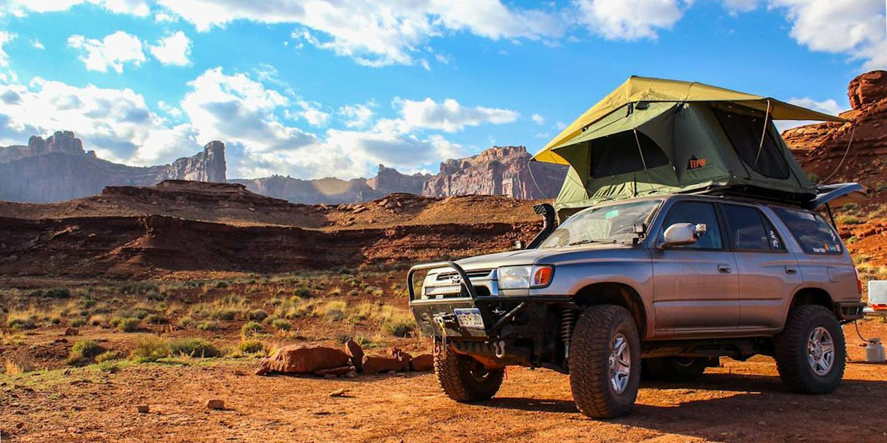 """<p>Just a few years ago, rooftop tents began popping up in the outdoor market, but they were ridiculously expensive. What started out as a fad that only appealed to rich outdoorspeople has since become much more accessible to all campers, thanks to new models for budgets of all sizes.</p><p>Since this boom, countless brands have begun putting their own twist on rooftop tent features, and now, seeing a few rooftop tents on a national park trip is practically a guarantee! Sure, <a href=""""https://www.bestproducts.com/fitness/equipment/g1645/best-camping-tents/"""" target=""""_blank"""">traditional tent camping</a> is still a grand old time, but rooftop tents have some serious perks.</p><h2>Benefits of a Rooftop Tent</h2><p><strong>Setup is a breeze (after the initial install)!</strong> These tents mount to your vehicle's roof crossbars and can be easily deployed in just a few minutes when you find a camp spot. A ladder folds out so that you can climb up into your home away from home, far away from any puddles, insects, and roaming wildlife. </p><p><strong>You can camp anywhere (well, almost anywhere)!</strong> No need to find a soft and perfectly flat tent pad — as long as the slope is minimal, you can set up shop anywhere. Sleeping off of the ground puts you high above any roaming critters, too!</p><p><strong>The comfort is top-notch!</strong> Most include a thick foam mattress that will blow your typical camping air mattresses out of the water.</p><p><strong>Their construction is solid! </strong>Their heavy fabrics and thick tent poles are made to stand strong in heavy winds and rains.</p><h2>Drawbacks of a Rooftop Tent</h2><p><strong>Cost</strong><strong> is high.</strong> They are significantly more expensive than a standard tent, so you better plan on getting your money's worth. </p><p><strong>They're heavy and bulky. </strong>Most options weigh at least 100 pounds, and some up to 200 pounds! You'll also make sure you have at least one other person with you for mounting. Pl"""