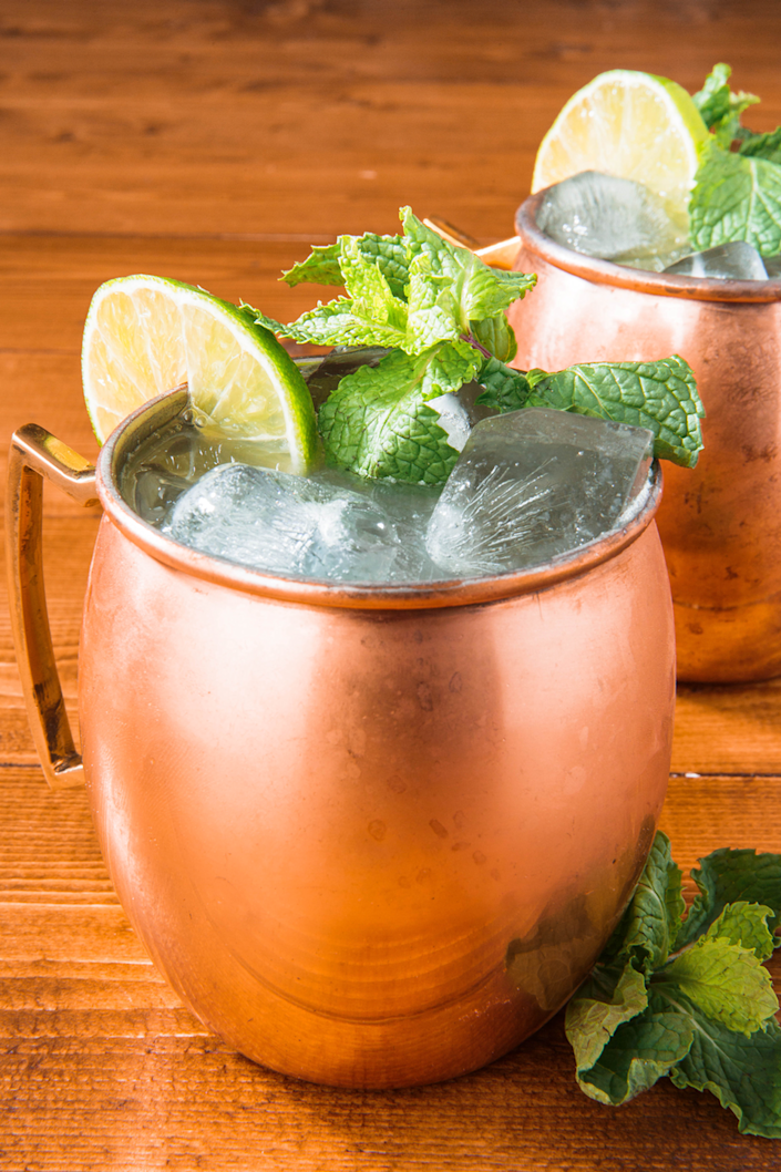 """<p>Impress your friends with this trendy and refreshing cocktail.</p><p>Get the recipe from <a href=""""https://www.delish.com/cooking/recipe-ideas/recipes/a43535/moscow-mule-recipe/"""" rel=""""nofollow noopener"""" target=""""_blank"""" data-ylk=""""slk:Delish"""" class=""""link rapid-noclick-resp"""">Delish</a>. </p>"""