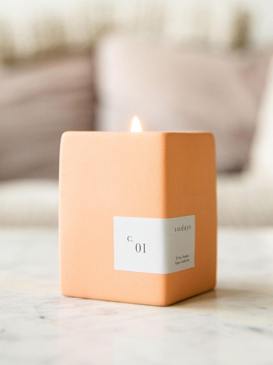"""<h2>Standard Dose Smoked Hemp Candle</h2><br>Standard Dose is the place to be for new wave CBD products and cannabis accessories. This smoked hemp soybean wax candle will have your living space smelling like lilac, hemp flower, green fir needle, and lemon — in sum, a relaxing forest getaway).<br><br><em>Shop</em> <strong><em><a href=""""https://standarddose.com/"""" rel=""""nofollow noopener"""" target=""""_blank"""" data-ylk=""""slk:Standard Dose"""" class=""""link rapid-noclick-resp"""">Standard Dose</a></em></strong><br><br><strong>Standard Dose</strong> Smoked Hemp Candle, $, available at <a href=""""https://go.skimresources.com/?id=30283X879131&url=https%3A%2F%2Fstandarddose.com%2Fproducts%2Fsundays-smoked-hemp-candle"""" rel=""""nofollow noopener"""" target=""""_blank"""" data-ylk=""""slk:Standard Dose"""" class=""""link rapid-noclick-resp"""">Standard Dose</a>"""
