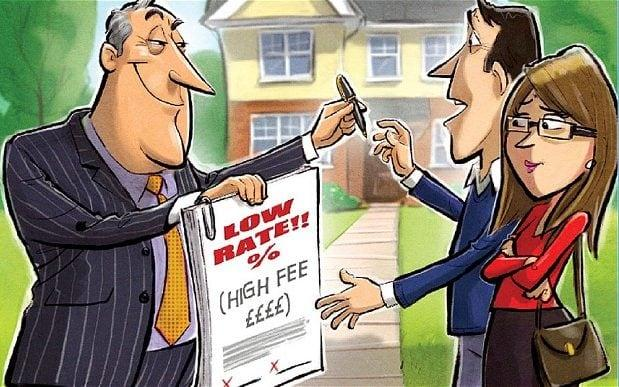 A fixed-rate mortgage may have a low rate but there will often be a high arrangement fee to offset it - Howard McWilliam