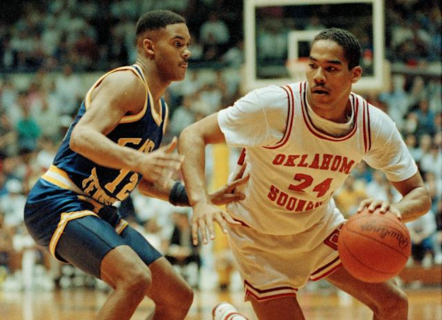 <p>The second game was Oklahoma's 72-71 win over ETSU.<br>-NCAA.org </p>
