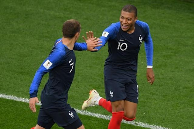 Kylian Mbappe became France's youngest ever World Cup goalscorer to send his team into the last 16