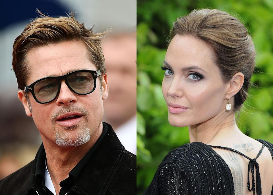 Brad Pitt and Angelina Jolie have spent the last two years fighting about their two-year marriage. (Photo: Getty Images)