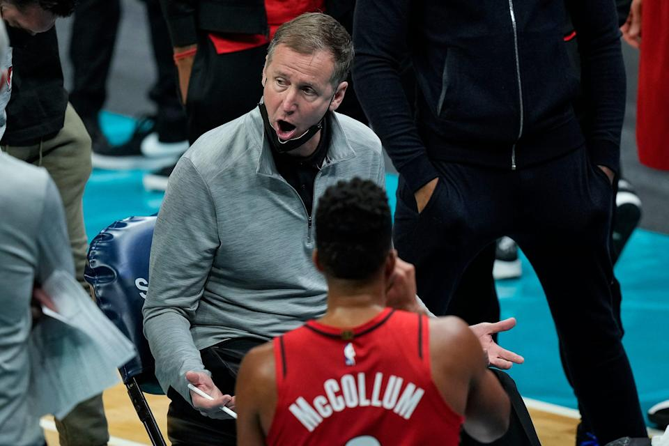 Unless his team makes a deep playoff run, Blazers coach Terry Stotts' job could be in jeopardy.