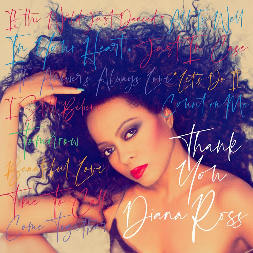 """""""Thank You"""" by Diana Ross is scheduled for release in fall 2021."""