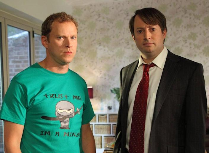 Webb and Mitchell in 'Peep Show'