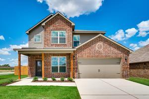 The Superior plan at Lasater Ranch is a gorgeous two-story home that features four bedrooms, a spacious layout, chef-ready kitchen and a host of designer upgrades included.