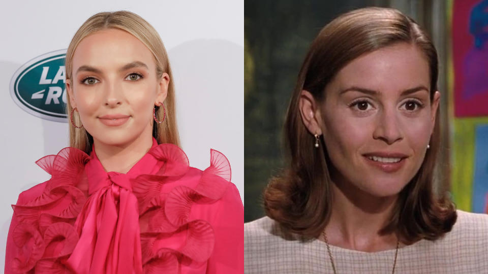 Jodie Comer is in the frame to play Miss Honey in the movie adaptation of the 'Matilda' musical. (Credit: Tibrina Hobson/FilmMagic/TriStar Pictures)