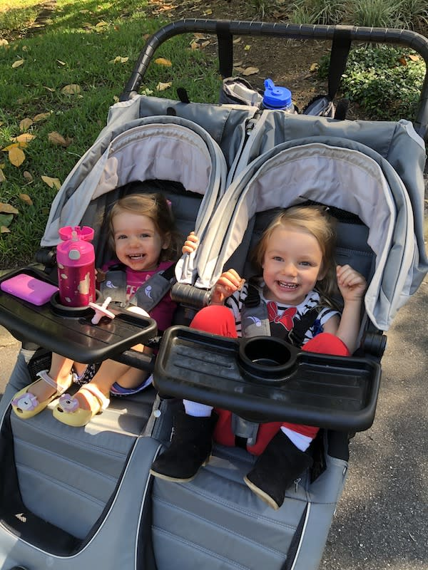 Travieso's daughters Alex, 3, and Addison, 2, were the inspiration behind her first book. (Photo: Tara Travieso)